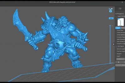 Finally the video on WHEN to use Heavy, Medium and Light supports when resin 3d printing minis!